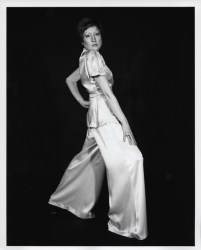 Martha Wilson A Portfolio of Models 1974 seven black-and-white photographs, text