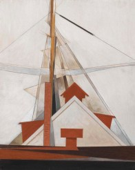 Masts, 1919 Charles DemuthImages (c) 2012 The Barnes Foundation