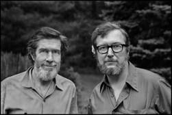 John Cage and Jasper Johns, Berkeley Heights, New Jersey, 1971