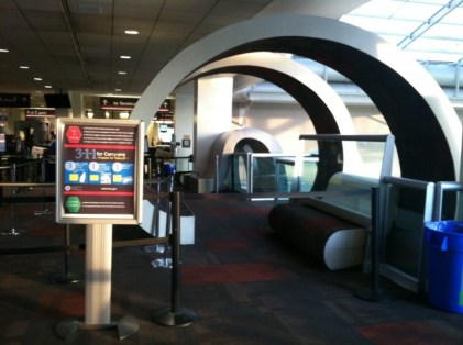 Vito Acconci, Flying Floors for the Main Ticketing Pavilion, Terminal B, Philadelphia International Airport