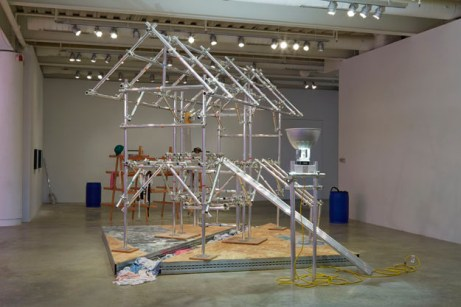 Jason Rhoades Sutter's Mill 2013 Installation view Institute of Contemporary Art University of Pennsylvania. Photo: Aaron Igler/Greenhouse Media