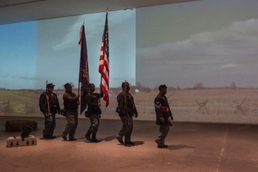 hoto credit Rebekah Flake, Image of US 3rd Colored Infantry.