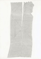 Untitled (02-2012), 2011 & 2012 SR - 118 Pencil on paper 11.2 x 8.6 inches