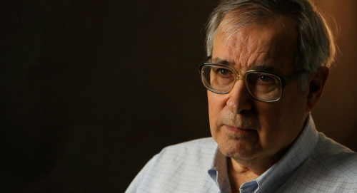 Portrait of Inquirer Art Critic Edward J. Sozanski during the filming of videos for the Barnes project in early 2012. (Video by Frank Wiese) Courtesy of The Philadelphia Inquirer