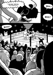 "From ""Andre the Giant"" by Box Brown. Credit: First Second Books"