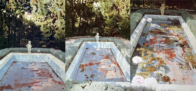 Pool, 1983 Oil on canvas