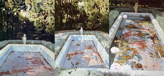 Pool, 1983 Oil on canvas