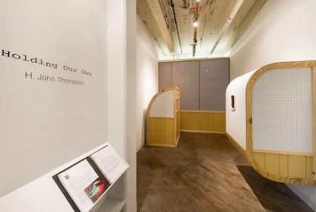 Holding Our Own, installation view, H. John Thompson, Napoleon, 2014