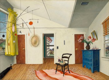 Peter Blume, The Italian Straw Hat, 1952 Wadsworth Atheneum Museum of Art, Hartford, CT, The Schnakenberg Fund, 1955.32 Art © The Educational Alliance, Inc./Estate of Peter Blume/Licensed by VAGA, New York