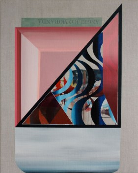 Rubens Ghenov, Juisbres by Moranda, 2013 Acrylic on Linen, 20 x 16 in