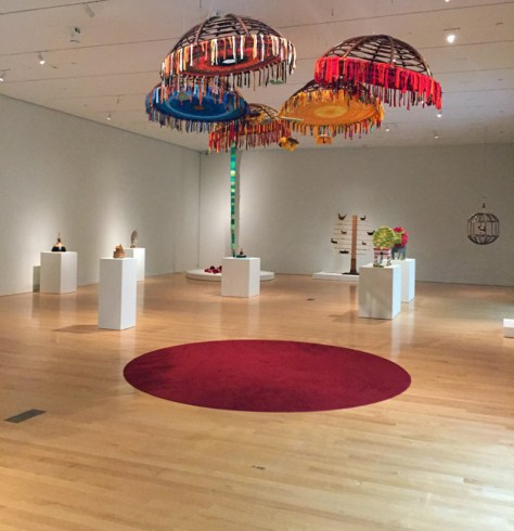 Installation Shot featuring FromSeed to Seeds, Shelley Spector, 2014