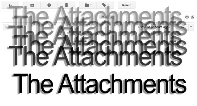 The Attachments (2015)