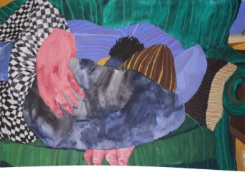 Nicole Dyer, Sleeping Together, 2015. Image: Savery Gallery.