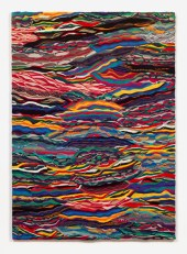 Jayson Musson 777, 2016 Mercerized cotton stretched over cotton 84 x 60 inches JSM 50 Credit: Courtesy the artist and Fleisher/Ollman. Photo: Claire Iltis 5/13/2016
