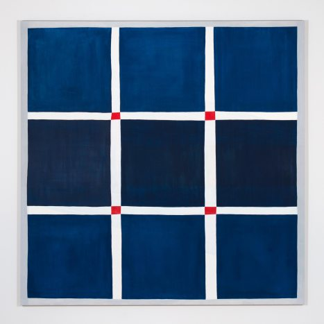 Peter Allen Hoffmann Carrying, 2017 Oil on canvas 72 x 72 inches Credit: Courtesy the artist and Fleisher/Ollman; Photo: Claire Iltis 7/6/2017