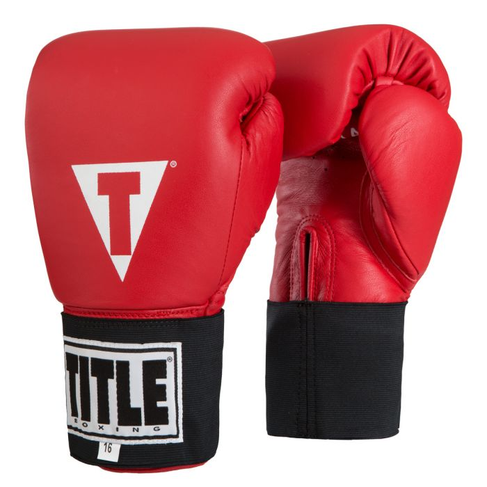 Title Masters Usa Boxing Competition Gloves Elastic