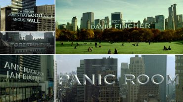 Panic Room Title Sequence by Kevin Tod Haug