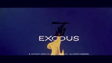 Exodus Title Sequence by Saul Bass