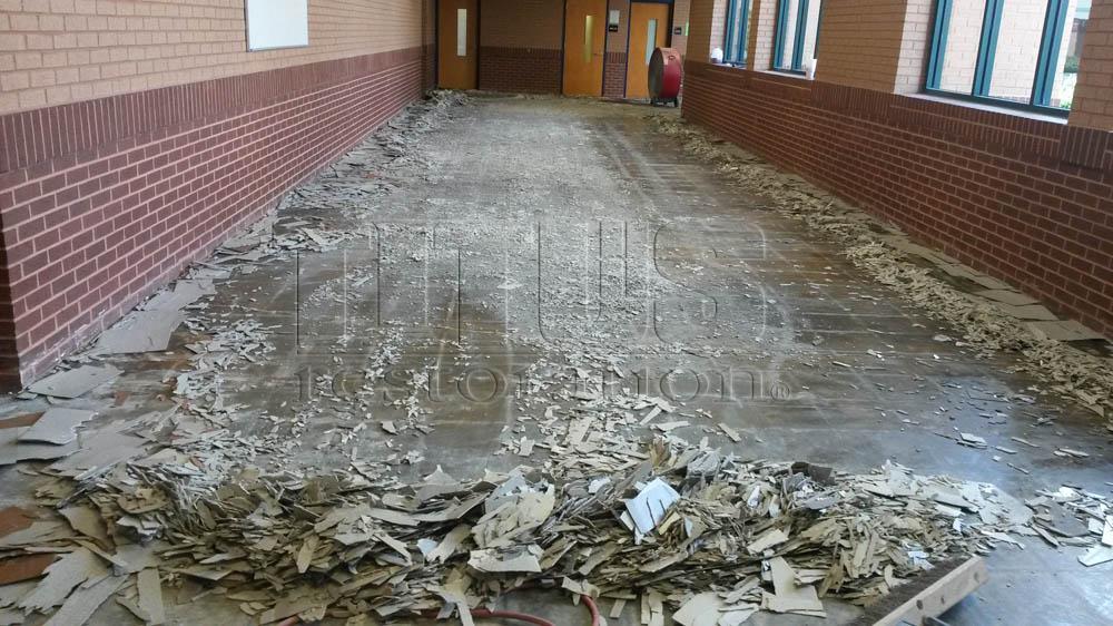 vct tile removal ceramic tile removal titus restoration