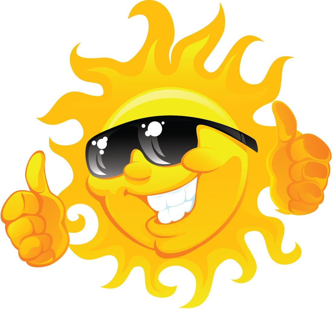 Cool Sun Clipart