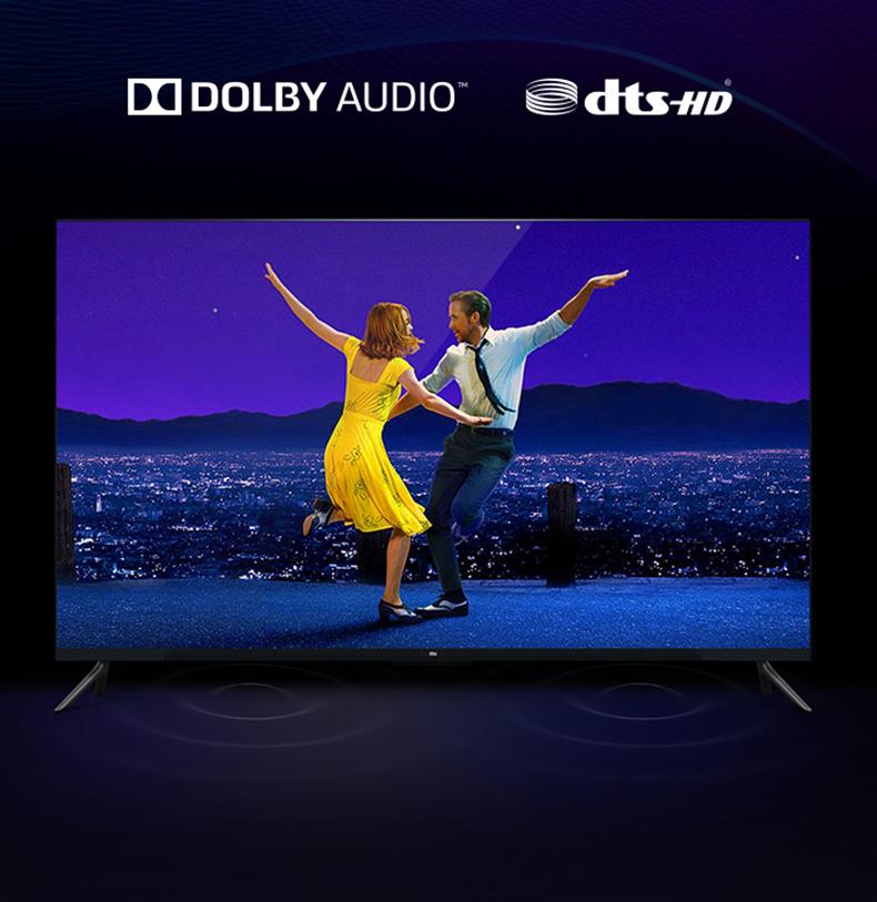 Công nghệ âm thah Dolby + DTS-HD
