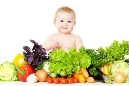 Svezzamento, l'importanza di frutta e verdura