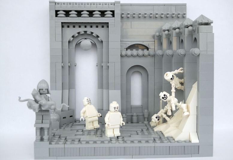 L'Inferno di Dante ricreato con i mattoncini Lego: una vera opera d'arte [Foto]