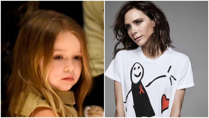 Victoria Beckham realizza un t-shirt speciale per la Giornata Mondiale contro l'AIDS