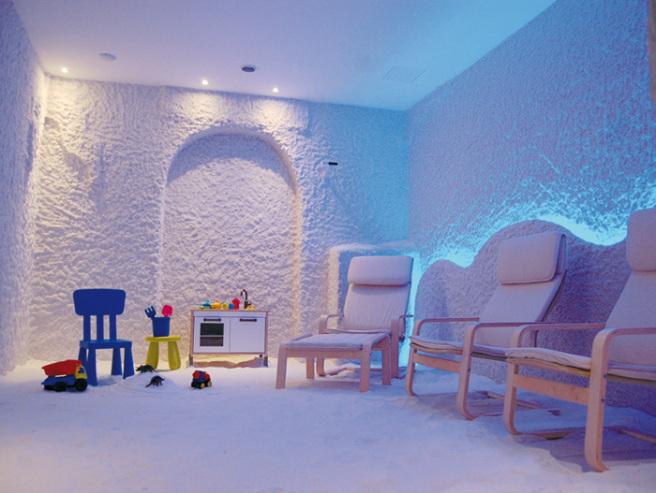 Haloterapia nelle grotte di sale, i vantaggi per i bambini