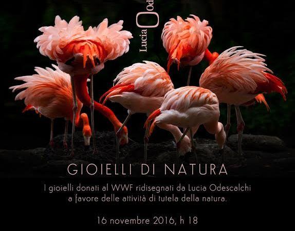 """Lucia Odescalchi realizza per il WWF i  """"Gioielli di Natura""""vintage e moderni"""