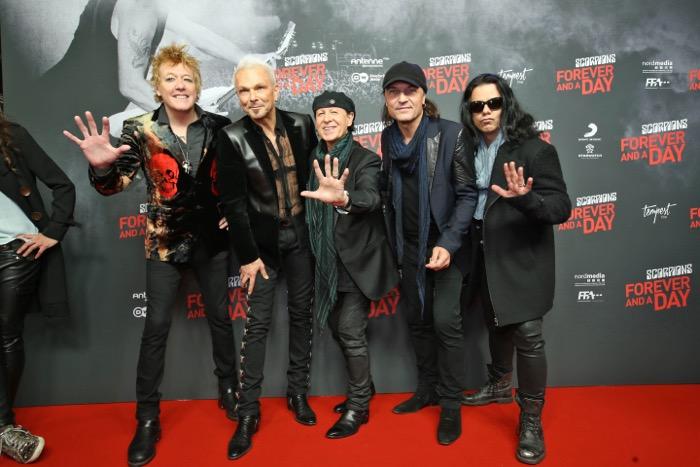 Scorpions in tour