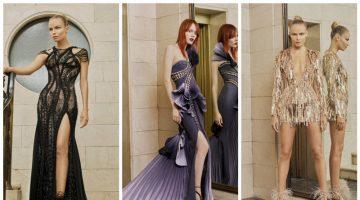 Atelier Versace presenta l'Haute couture P/E 2017 con un lookbook