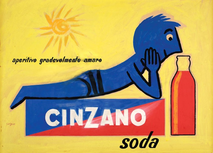Raymond-Savignac-Cinzano-soda-mostra
