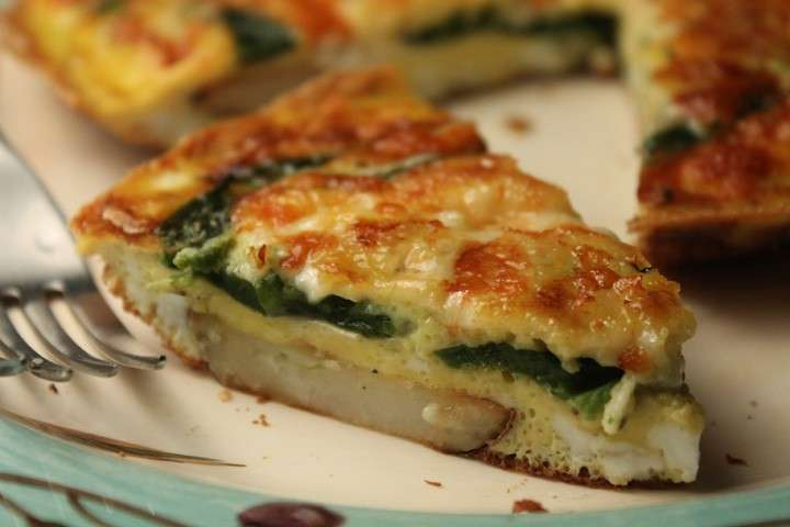 frittata-funghi-spinaci-secondi