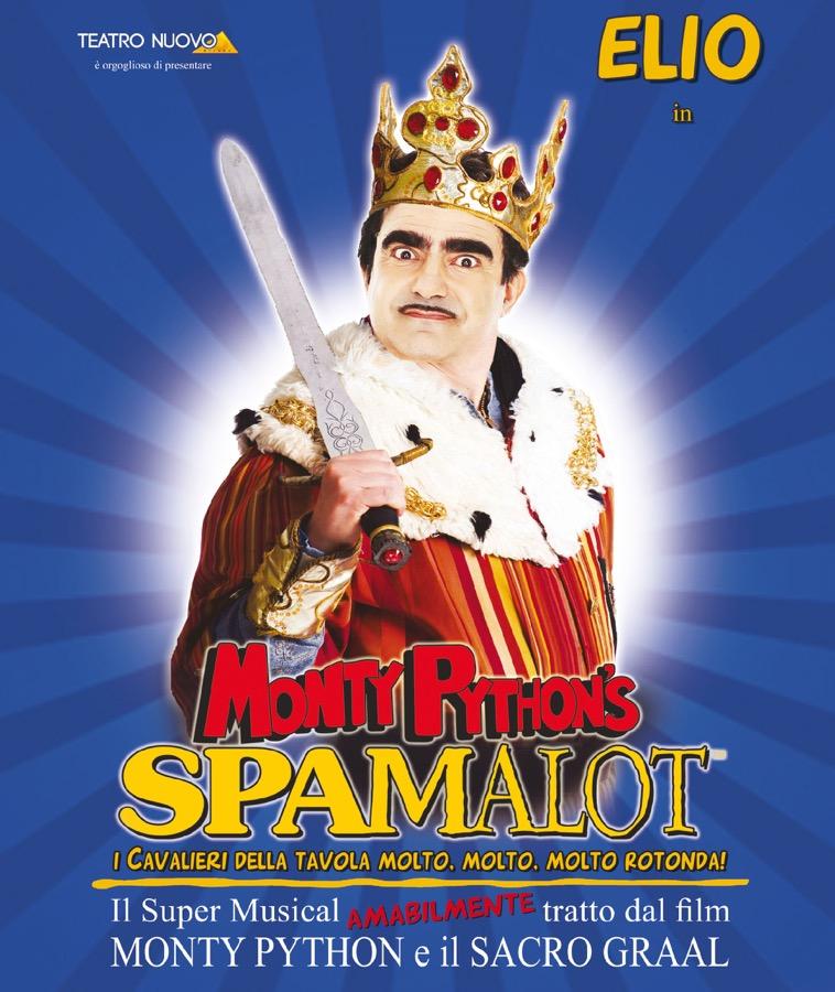 """""""Spamalot"""", Elio in scena al Teatro Augusteo di Napoli"""