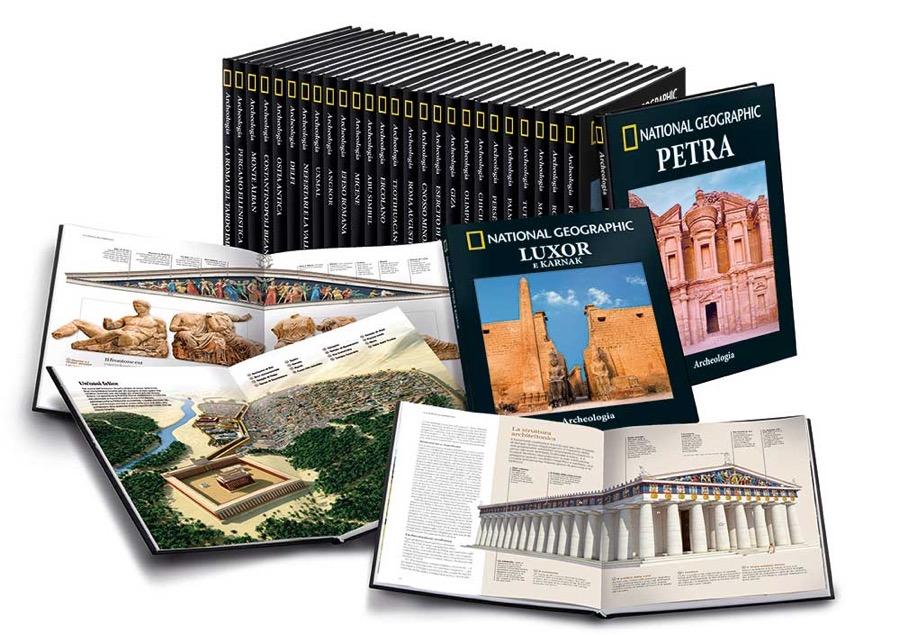 Archeologia, una nuova collana di National geographic in edicola