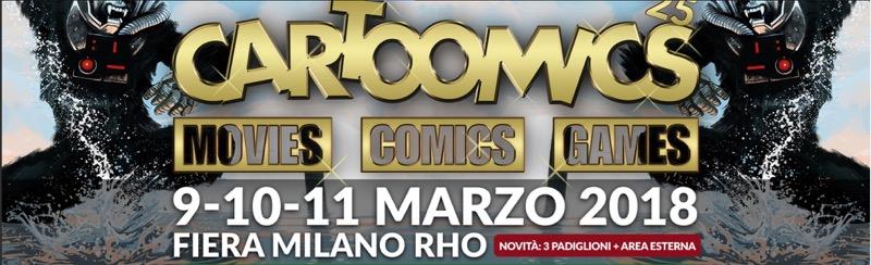 Cartoomics, torna la grande fiera dei fumetti, videogames e cinema di Milano