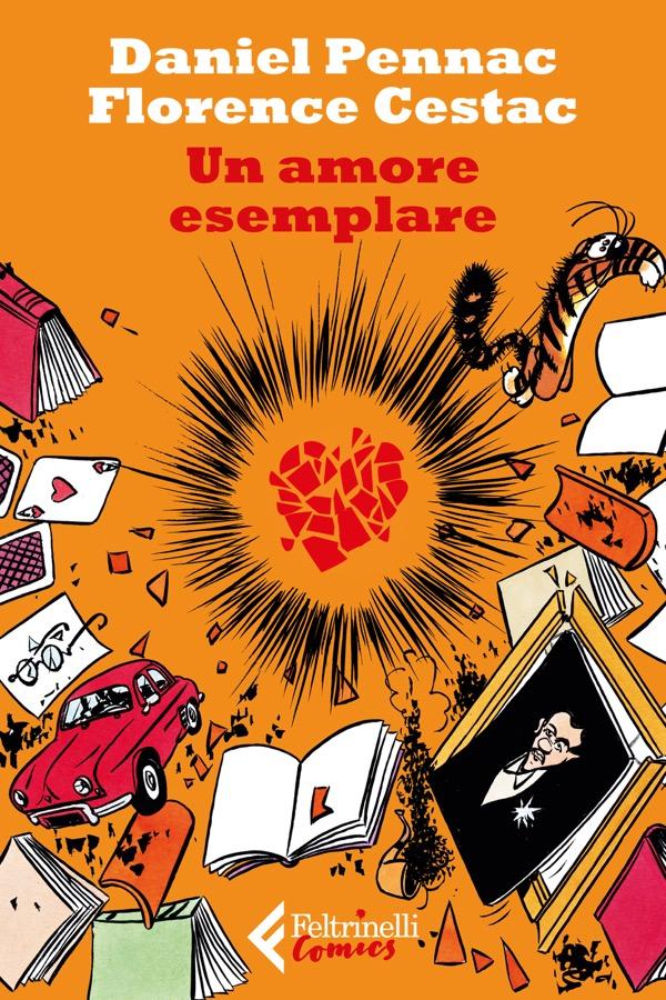 """""""Un amore esemplare"""", la nuova graphic novel di Daniel Pennac e Florence Cestac"""
