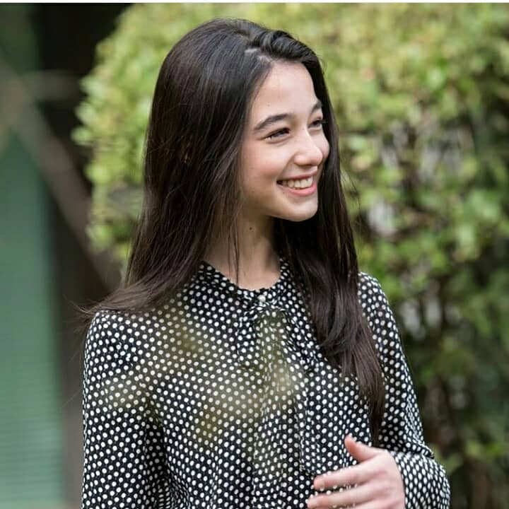 La giovane Elena Foresta nella fiction E' arrivata la felicità 2