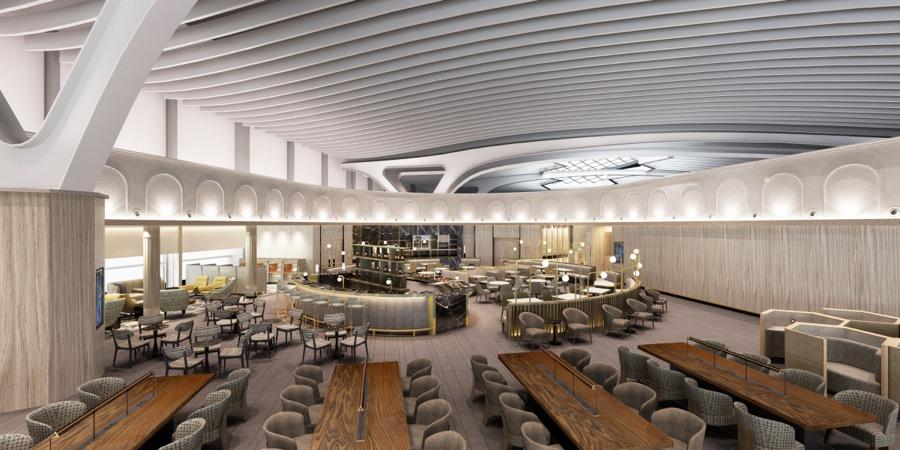 La nuova lounge dell'aeroporto di Fiumicino ospita l'enogastronomia d'eccellenza