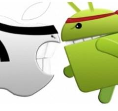 L'eterna battaglia tra iPhone e smartphone Android