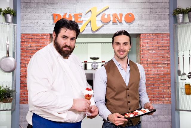 Due per uno, la nuova sfida culinaria in onda su Alice Tv