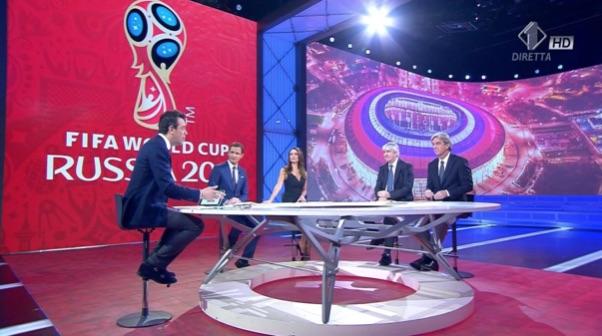 Mondiali di Russia su Mediaset