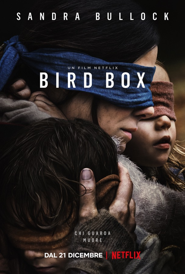 Bird Box con Sandra Bullock