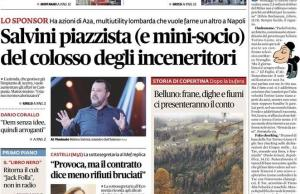 Il fatto quotidiano prima pagina