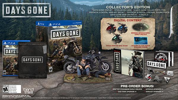 Days Gone: annunciate le edizioni speciali