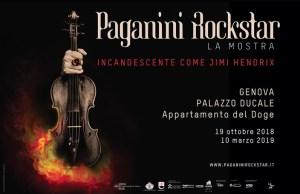 Paganini Rockstar mostra Genova