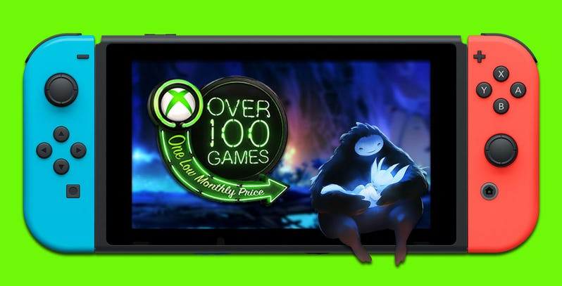 Xbox Game Pass: il servizio potrebbe arrivare su Nintendo Switch