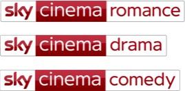 Sky cinema romance, drama e comedy