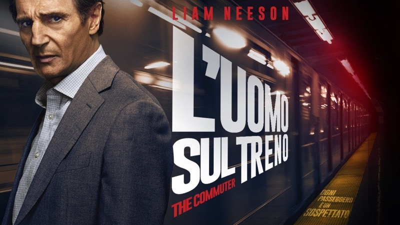 L'uomo sul treno – The commuter Sky cinema Suspence